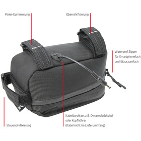 NC-17 Connect Steltaske, black
